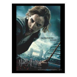 Deathly Hallows - Hermione 2 Postcard