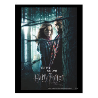 Deathly Hallows - Hermione and Ron Postcard