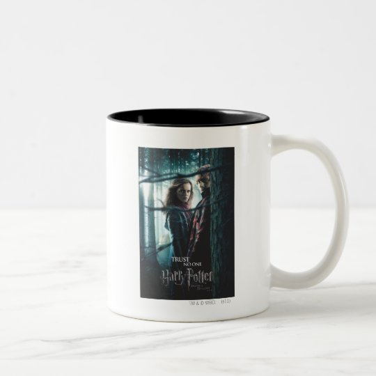 Deathly Hallows - Hermione and Ron Two-Tone Coffee Mug