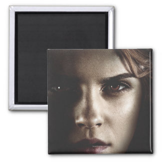 Deathly Hallows - Hermione 2 Inch Square Magnet