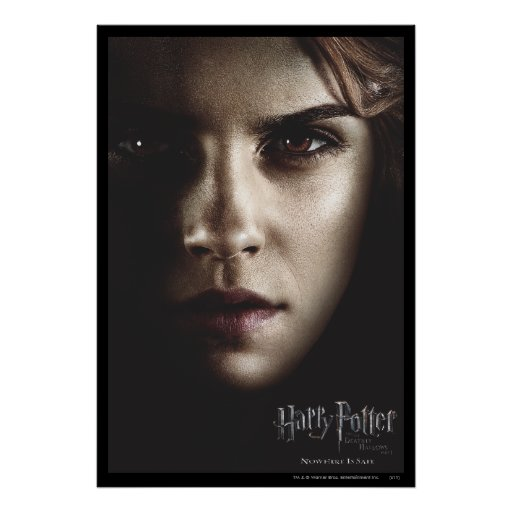 Deathly Hallows - Hermione Print