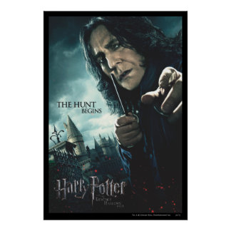 Deathly Hallows - Snape 2 Poster