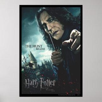 Deathly Hallows - Snape 2 Print