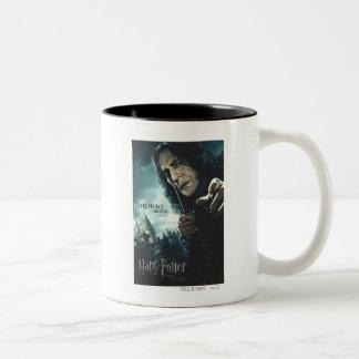 Deathly Hallows - Snape 2 Two-Tone Coffee Mug