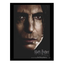 Deathly Hallows - Snape Postcard