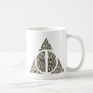 DEATHLY HALLOWS™ Typography Graphic Coffee Mug