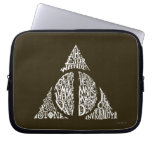 DEATHLY HALLOWS™ Typography Graphic Laptop Sleeve