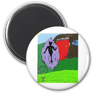Deathman Mindscape RPG Fridge Magnet