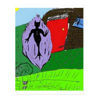 Deathman Mindscape RPG Postcard