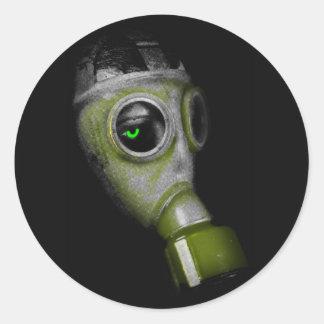Deathmask Classic Round Sticker