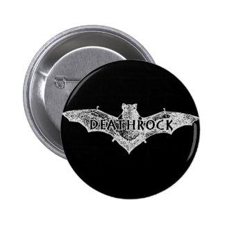 Deathrock Bat Pinback Buttons
