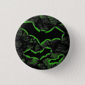 Deathrock Bats Pinback Button