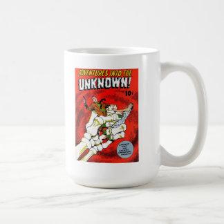 Death's Bony Hand - Advs into the Unknown Mug