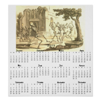 Deaths Dance calender Posters