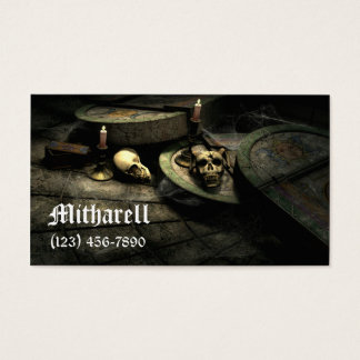 Deaths Domain Gothic Business Card