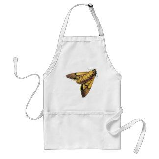 Death's Head Hawk Moth Adult Apron