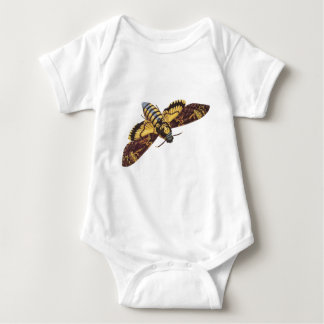 Death's Head Hawk Moth Baby Bodysuit