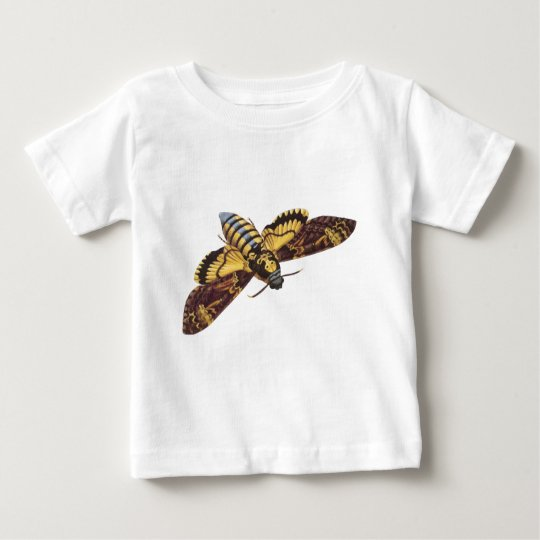 Death's Head Hawk Moth Baby T-Shirt