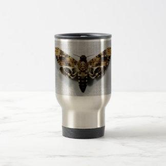 Death's Head Hawkmoth Acherontia Lachesis 15 Oz Stainless Steel Travel Mug