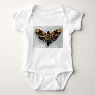 Death's Head Hawkmoth Acherontia Lachesis Baby Bodysuit