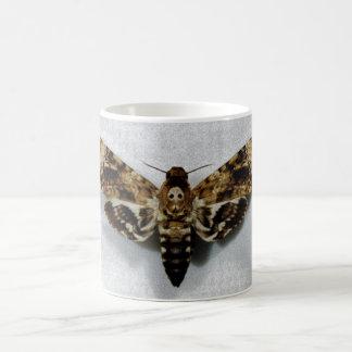 Death's Head Hawkmoth Acherontia Lachesis Classic White Coffee Mug