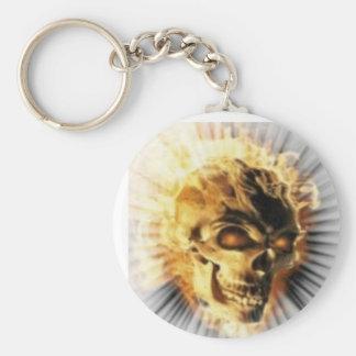 death's head keychain