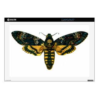 Death's Head Moth. Acherontia atropos Laptop Skins
