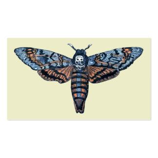Death's Head Moth, aka Sphinx atropo moth Business Card Template