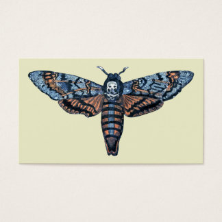 Death's Head Moth, aka Sphinx atropo moth Business Card