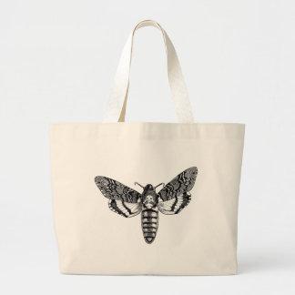Death's-Head Moth Canvas Bag