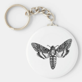 Death's-Head Moth Keychain