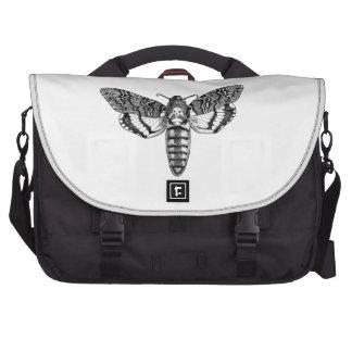Death's-Head Moth Laptop Messenger Bag