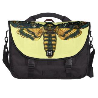 Death's Head Moth Laptop Computer Bag