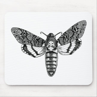 Death's-Head Moth Mouse Pad