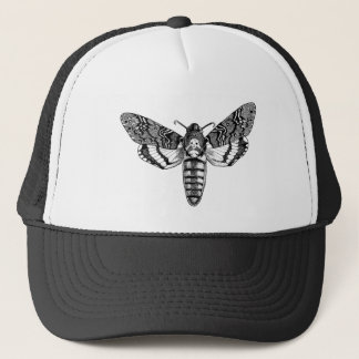 Death's-Head Moth Trucker Hat