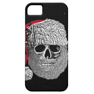Death's-head of Father Christmas iPhone SE/5/5s Case
