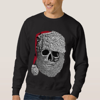 Death's-head of Father Christmas Sweatshirt