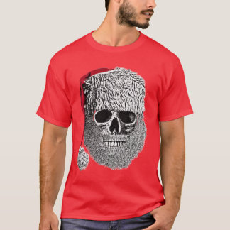 Death's-head of Father Christmas T-Shirt