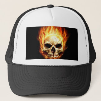 death's head trucker hat