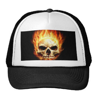 death's head trucker hat