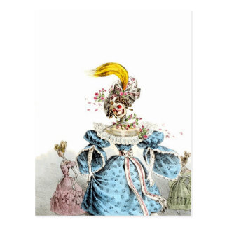 Death's Pneumonia Dress postcard