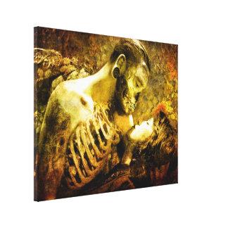 Deaths Sweet Kiss Canvas Print