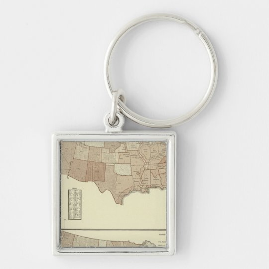 Deaths, whooping cough, measles keychain