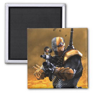 Deathstroke 2 Inch Square Magnet