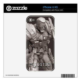 Deathstroke Alternate Skin For The iPhone 4