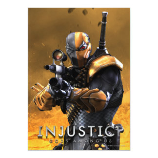 Deathstroke Card