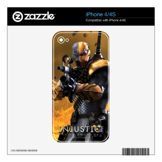 Deathstroke Decal For iPhone 4