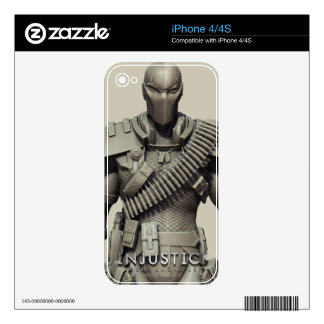 Deathstroke Decals For iPhone 4S