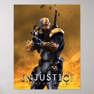 Deathstroke Poster