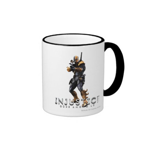 Deathstroke Ringer Coffee Mug